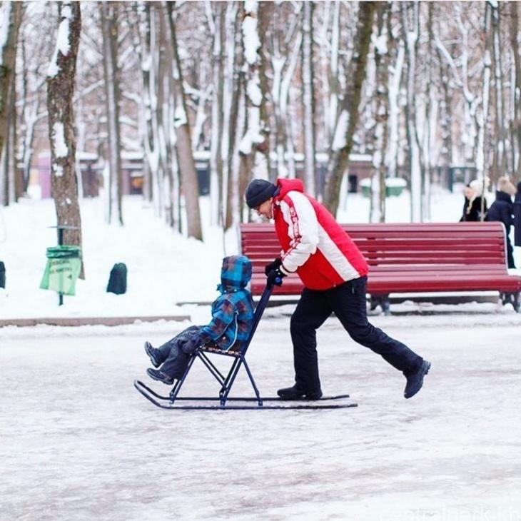 Прокат финских саней