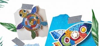 Мастер-класс по керамической мозаике