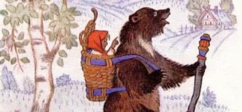"""Смачні казки з Ларисою Серцевої """"Маша і Ведмідь"""""""