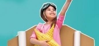 Весняний денний табір  «Ульотні канікули» для дітей 8-10 років!