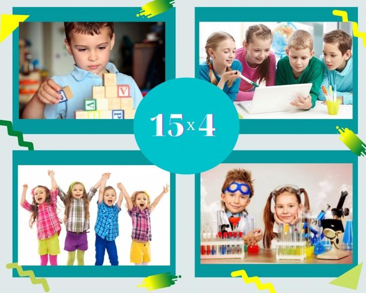 Оновлений курс «15 х 4» з білінгвальним методом навчання!