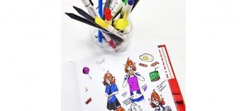 Уроки рисования: анимэ скетч