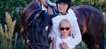 Акція: катання на конях для дітей - за 150 грн!