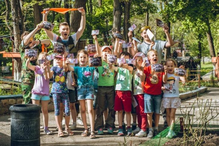 Детский День рождения в Веревочном парке!