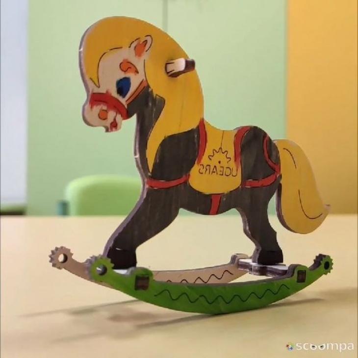 """Мастер-класс """"3D модель-разрисовка деревянная игрушка"""""""