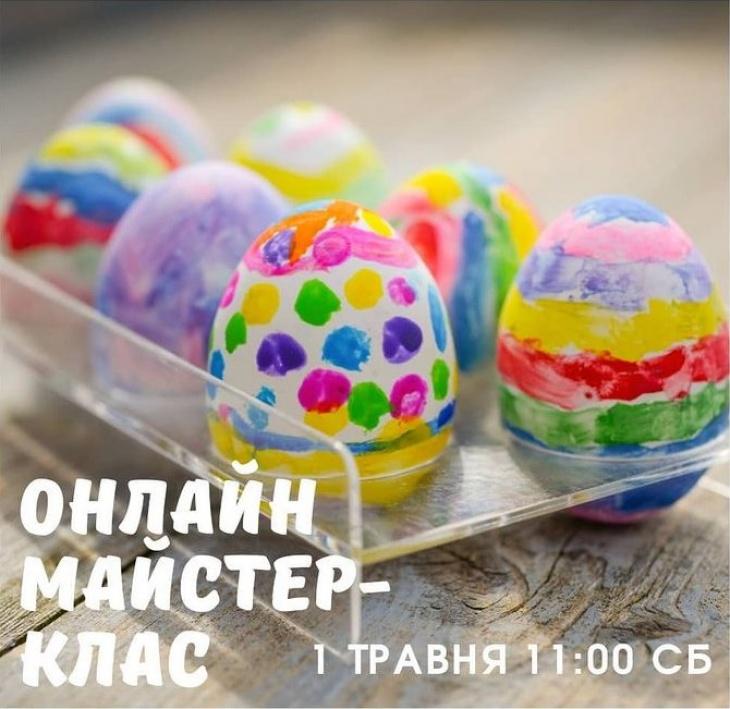 Онлайн мастер-класс по росписи деревянных яиц к Пасхе