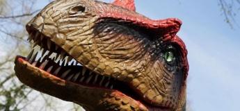 Парк динозавров снова работает