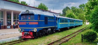 Запорізька дитяча залізниця знову працює