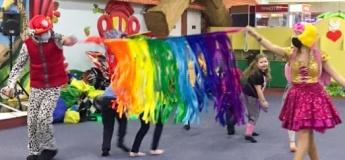"""Розважальна програма для дітей у центрі """"Мадагаскар"""""""
