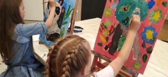Малюємо яскраву літню картину