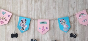 Праздничная гирлянда Микки Маус