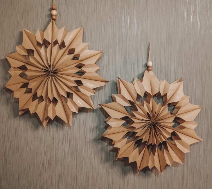 Крафтові квіти. Декор з паперу