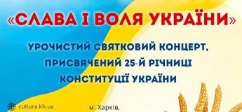 """Торжественный праздничный концерт """"Слава И ВОЛЯ УКРАИНЫ"""""""