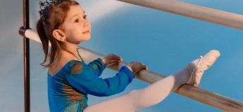 Набор детей в балетную студию
