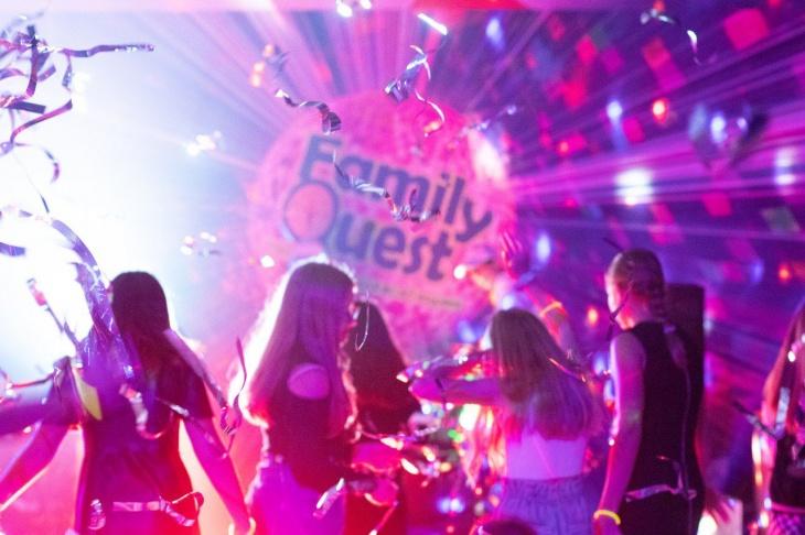 Неоновая дискотека для детей NEON DANCE CLUB