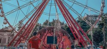 Олимпийская фан-зона в парке горького
