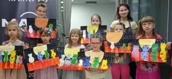 Безкоштовний дитячий майстер клас з малювання у ТЦ Марк