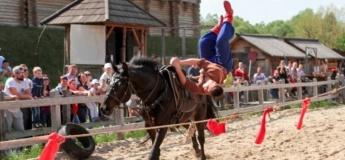 На Київщині пройдуть змагання кінних каскадерів