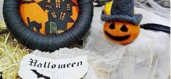 Мастер-класс по созданию веночка на дверь к Хэллоуину