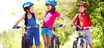 Велосипедні перегони для дітей  «Круті віражі».