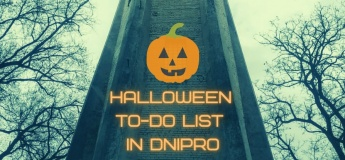 Halloween to-do list in Dnipro