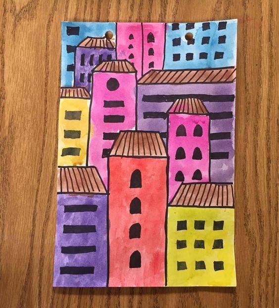 Майстер-клас з малювання для дітей 4-5 років
