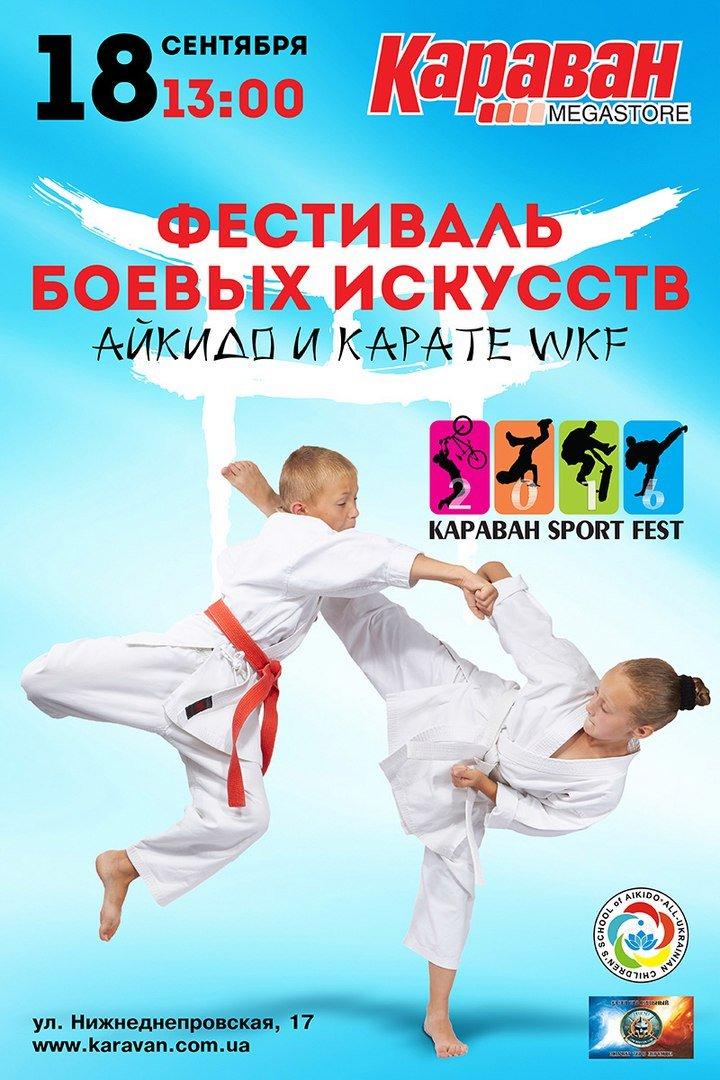 """Фестиваль боевых искусств  в ТРЦ """"Караван"""""""