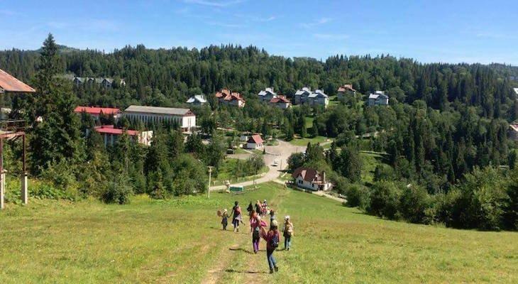 Осінні канікули у Карпатах для дітей 8-11 років