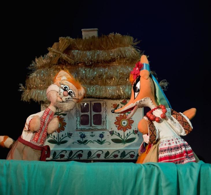 Котик та Півник. За українською народною казкою + безкоштовний квиток до Joy Land, Ігроленд чи Дитячої планети на вибір