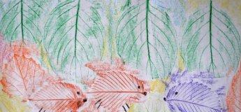 Майстер-клас «Прості картини осіннім листям»