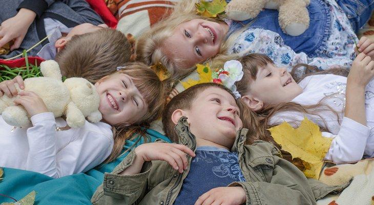 Дитячий табір під час осінніх канікул