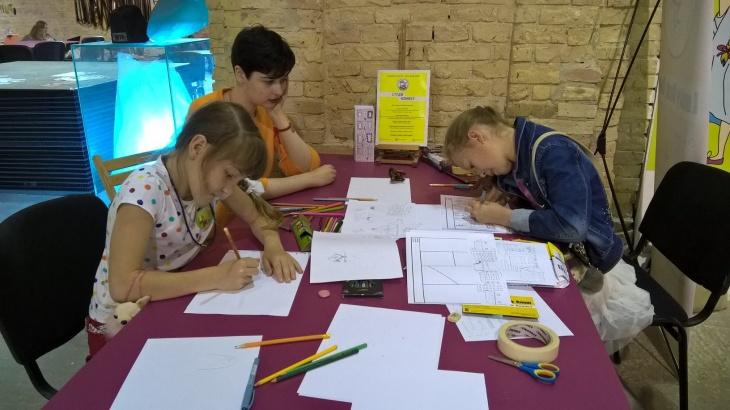 Дитячі Курси Коміксу 2016 -2017