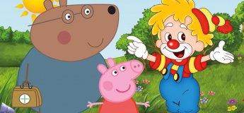 """""""Пригоди свинки Пеппи"""" -  інтерактивна вистава для дітей"""