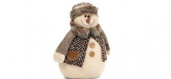 """Мастер-класс по изготовлению снеговика в студии """"New Gallery"""""""