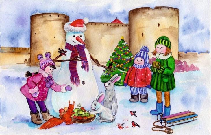 Открытие резиденции Деда Мороза в Аккерманской крепости