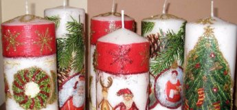 Майстер-клас з декору на свічках!