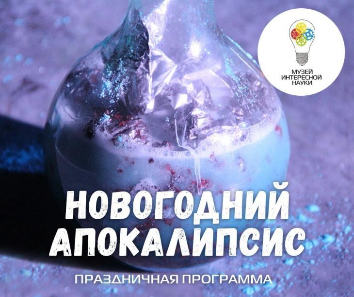 """Научное шоу """"Новогодний Апокалипсис"""" в Музее Интересной Науки"""