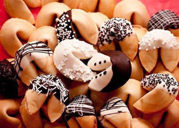 Прикрашання Різдвяного печива з передбаченнями