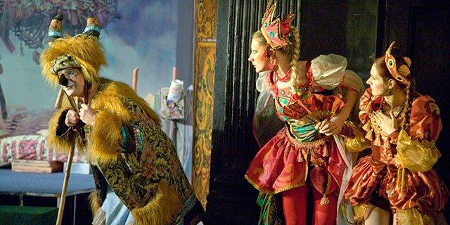 """Спектакль """"Исчезновение принцессы Фефеллы III"""""""