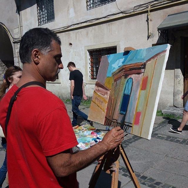 Уроки олійного живопису для дорослих