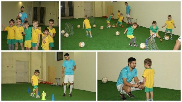 Пробная тренировка по футболу