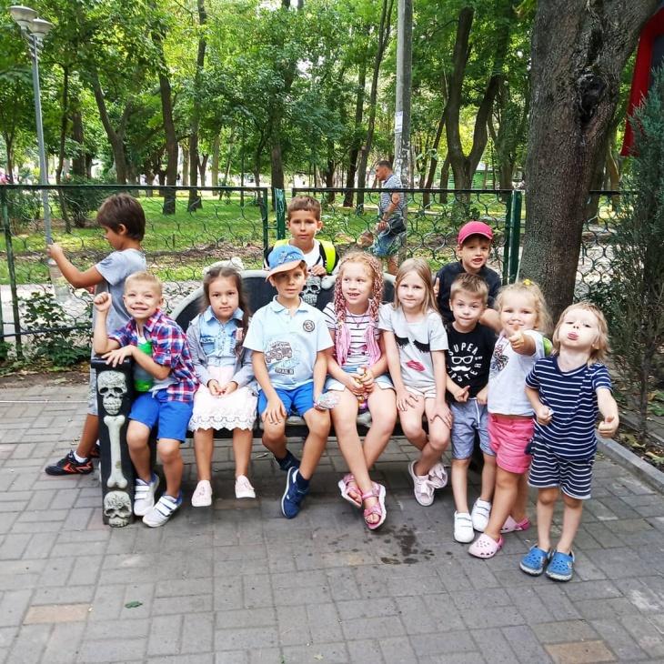 Набор детей от 1 до 8 лет