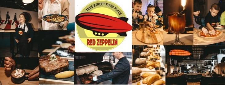 Червоний цепелін - Red Zeppelin - сімейний ресторан на Вишеньці