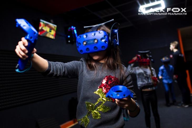 Виртуальная реальность Black Fox VR