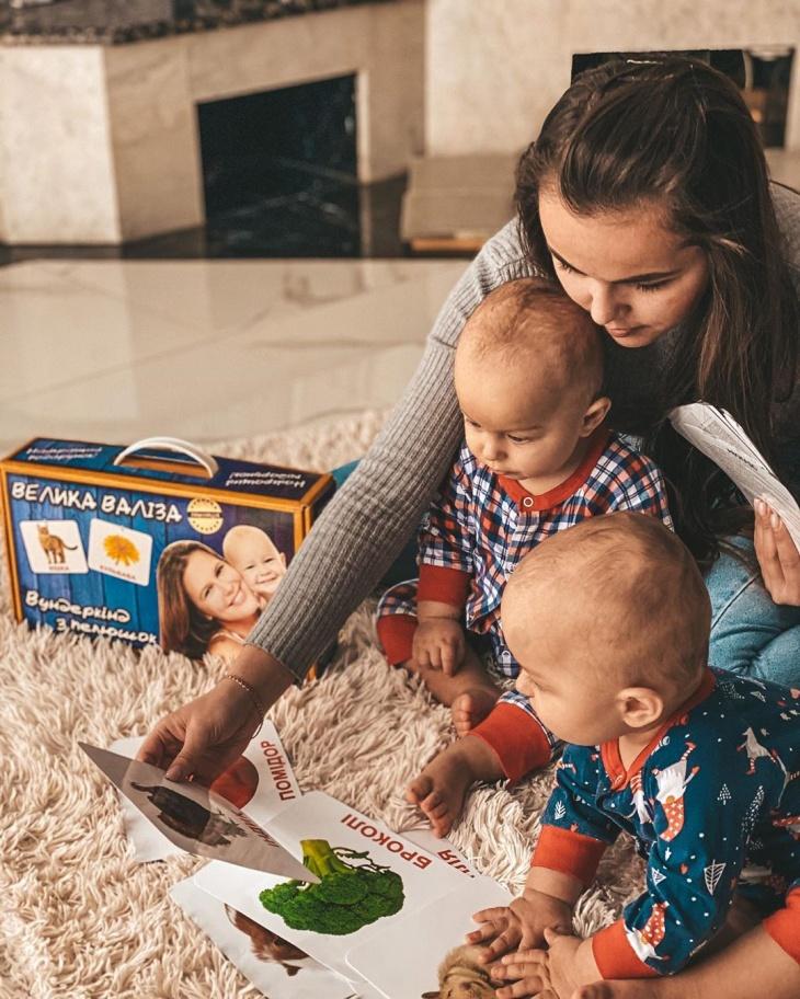 """""""Wunderkind.pp.ua"""" картки Домана для ранього розвитку дітей"""