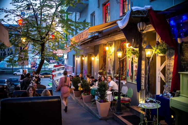 Ресторан Tres Francais - дуже по-французьки