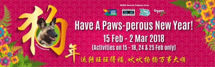Have A Paws-perous New Year @ Singapore Zoo