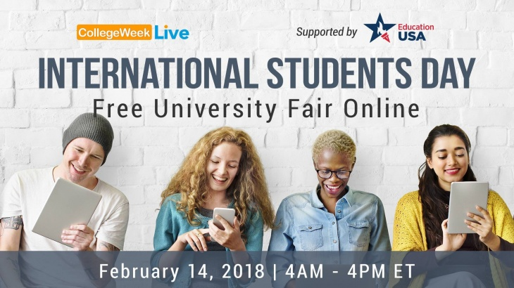 International Students Day - Free University Fair Online | Tickikids