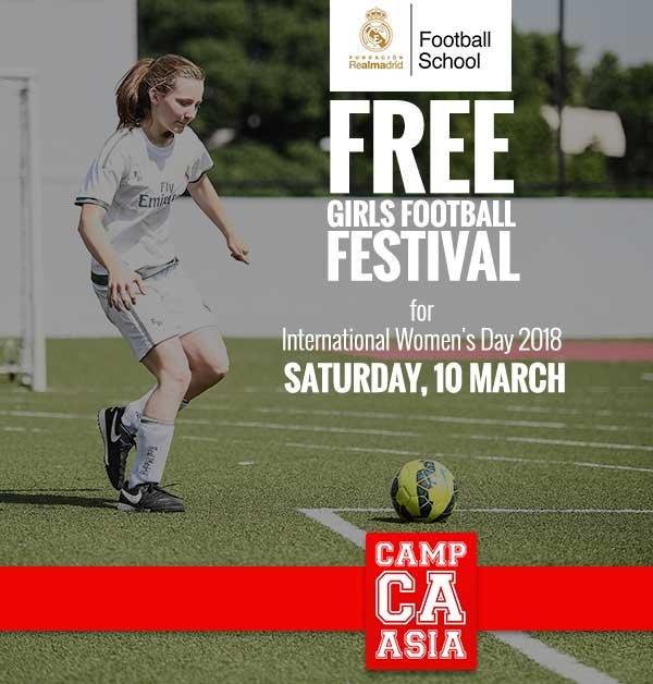 Asian girls playing football apologise
