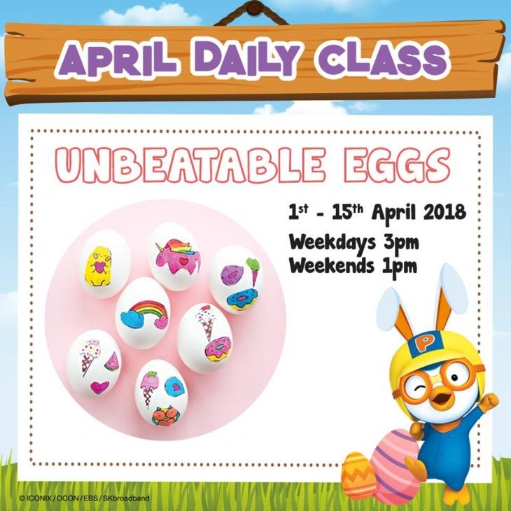 April Daily Class: Unbeatable Eggs